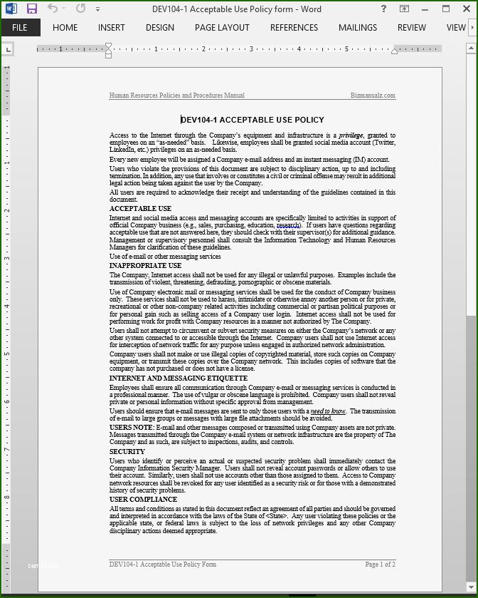 12 Overwhelming Acceptable Use Policy Template For 2020 Policy Template Personal Financial Statement Contract Template
