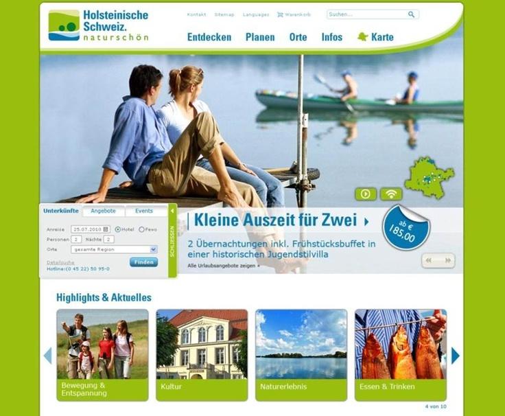 Tourismuszentrale Holsteinische Schweiz, www.holsteinischeschweiz.de
