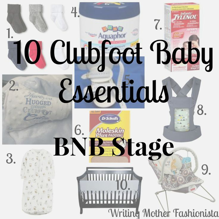 56 best Clubfoot images on Pinterest In spanish, Feel like and Glee - baby registry checklists