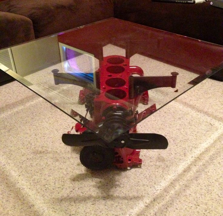 18 Best Engine Block Coffee Table Images On Pinterest