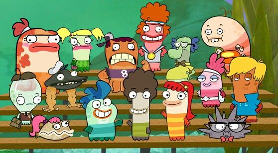 17 best images about fish hooks on pinterest disney for Fish hooks show