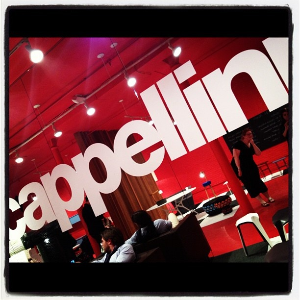 CAPPELLINI NY Showroom on Twitter - ICFF 2012