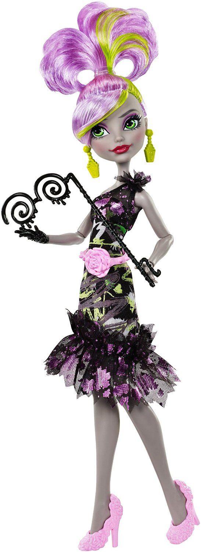 """Protótipos da Moanica D'Kay - Dance The Fright Away (Caixa pequena, exclusiva). Coleção do próximo filme de Monster High """"Bem-vindo a Monster High"""", com estreia prevista para 24 de Outubro de..."""