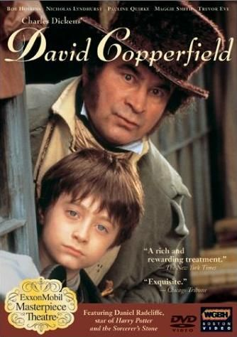 David Copperfield (1999) The most autobiographical of Dickens's works, David Copperfield tells the moving story of David's journey from birth to maturity -- a journey that inextricably links his life with some of Dickens's most extraordinary and colorful families. A world-class cast.  Emilia Fox, Pauline Quirke, Maggie Smith...TS bio