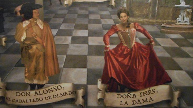 Casa del Caballero de Olmedo. Escenario. Imagen capturada de internet