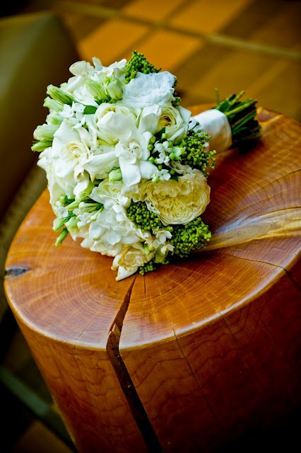 Bouquet with white flowers