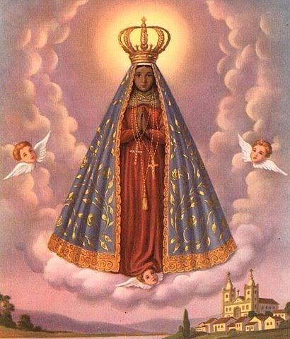Our Lady of Aparecida, the national patroness of Brazil. - Nossa Senhora Aparecida, É CONSIDERADA PELOS CATÓLICOS BRASILEIROS COMO PADROEIRA DO BRASIL.