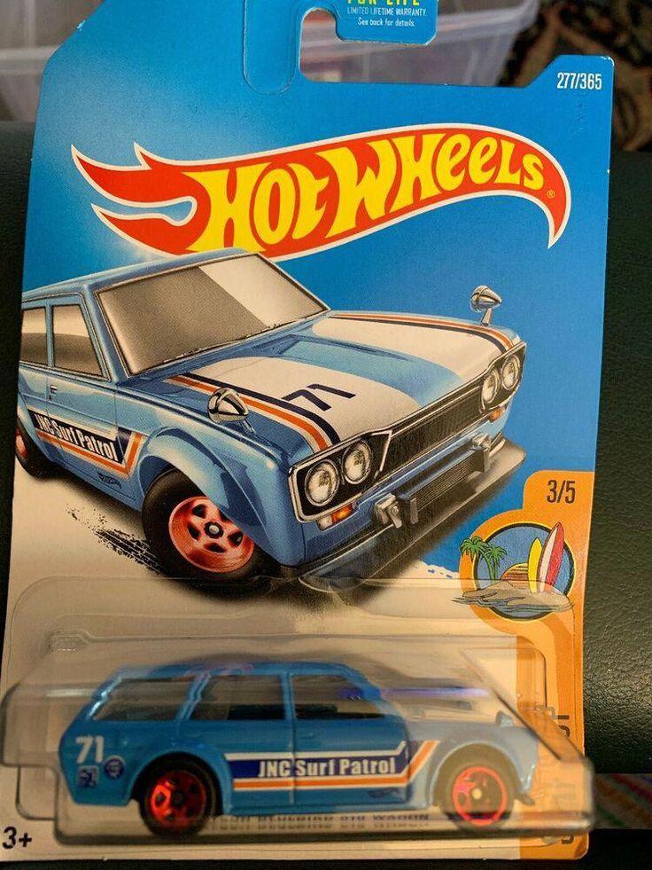 HOT WHEELS 1971 Datsun Bluebird 510 Wagon HW Surfs Up