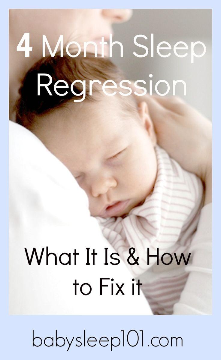 how to help 4.month baby sleep