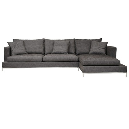 I pinned this Simena Sectional Sofa from the Courteney Cox: Curate for a Cause event at Joss and Main!