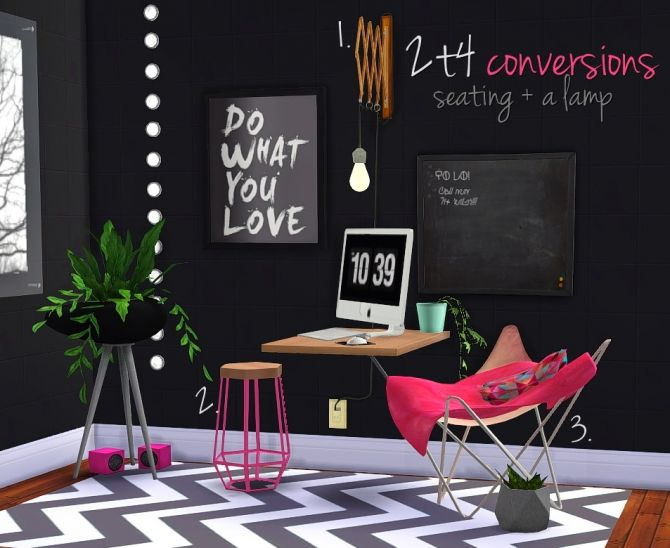 2t4 conversions seating lamp at grilled cheese aspiration via sims 4 updates