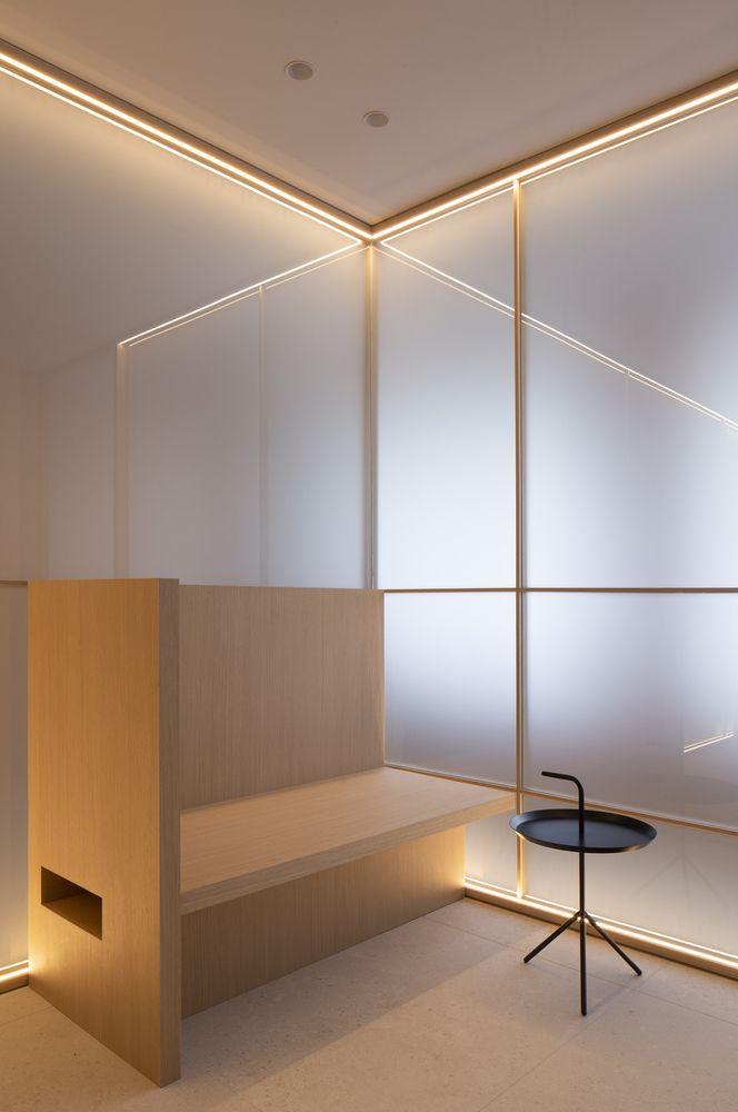 Gallery Of Swiss Concept Clinic Francesc Rife Studio 8 Minimalist Interior Meditation Space Interior
