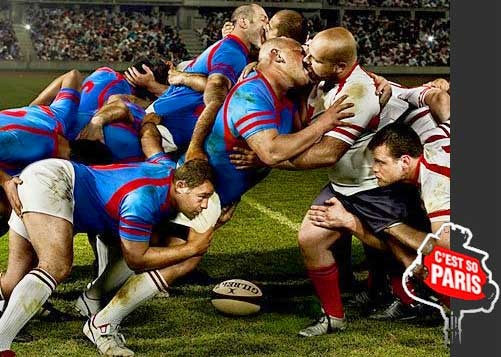 rugby sport kiss paris scruff sports kissing body accidents funny