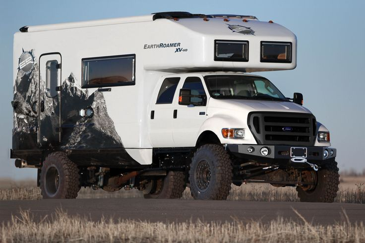 The Ultimate Off Road RV. For the Redneck in all of us. EarthRoamer » XV-HD
