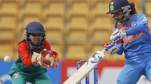 Women's World Twenty20: India beat Bangladesh by 72 runs in opening game