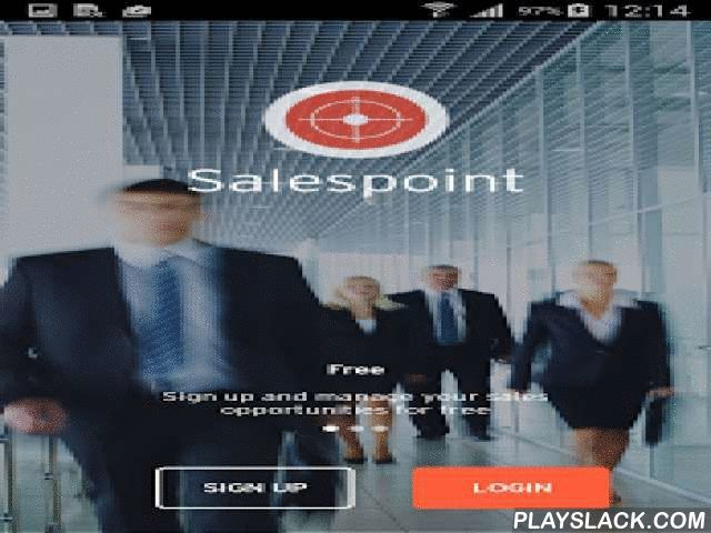 Salespoint Mobile Sales CRM  Android App - playslack.com ,  Salespoint provides geolocation services for the salesforce on top of a complete mobile CRM package. Take advantage of the mobile revolution for sales CRM systems and use features that are simply not possible with older systems from the PC era.Location based features include:- nearby company notification: get an alert on your mobile device when a prospect or client is near. This geofencing solution is great for efficient daily…