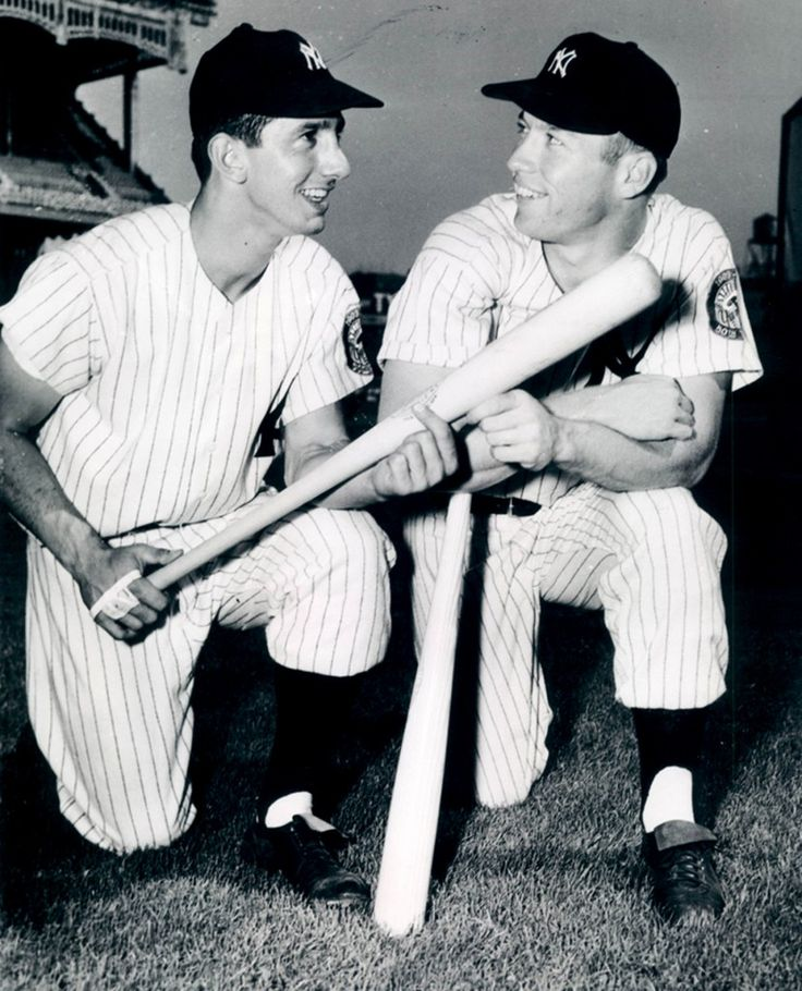 Billy Martin and Mickey Mantle, New York Yankees