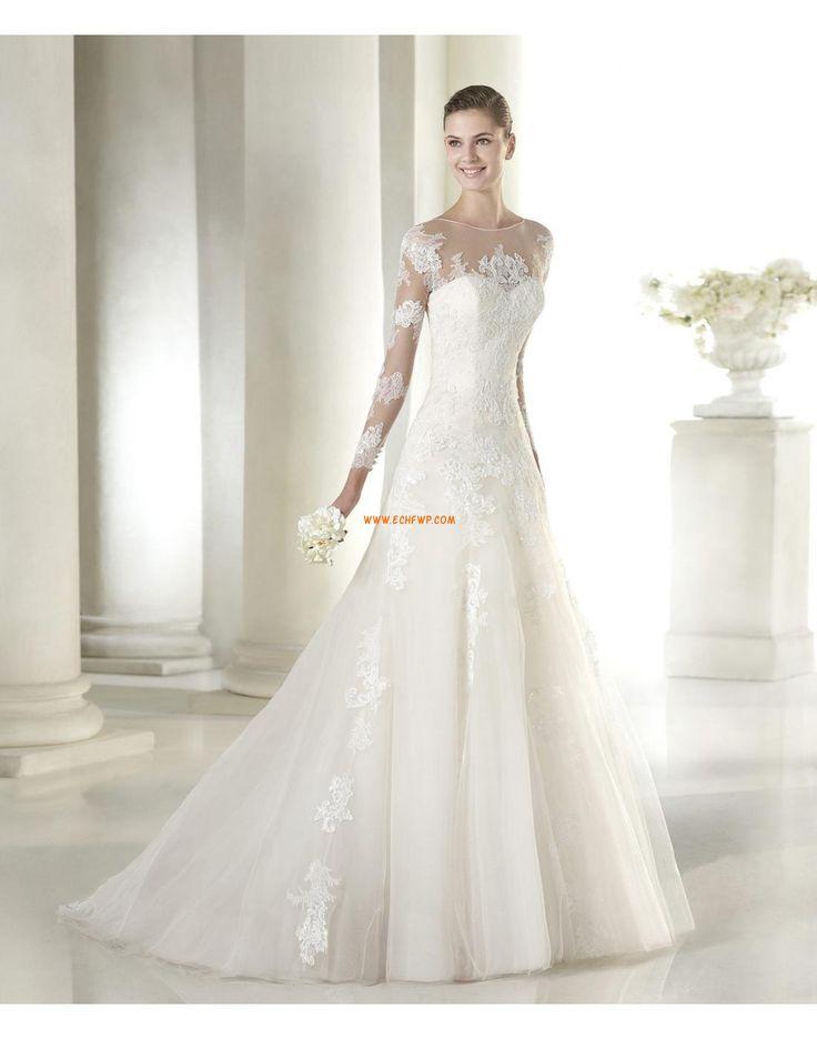 Ősz  Hosszú ujj Menyasszonyi ruhák 2015