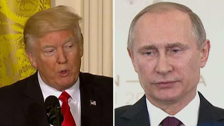 President Donald Trump and Russian counterpart Vladimir Putin on Saturday spoke for the first time since Trump was sworn in -- a much anticipated talk about future relations between two world powers with a complicated history, including recent reports that Putin and Russia worked to influence the 2016 White House race on behalf of Trump.