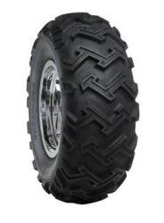 The Duro Excavator HF274 ATV tire is the definition of aggressive. This tire knows the meaning of work, digging into whatever task you put in front of it, whether it be digging ditches, plowing fields, or even uprooting small trees! The unique tread design features deep zig-zagging lugs stretching almost from shoulder to shoulder. This tire features 4 and 6 ply ratings, and is available for front or rear in many sizes. http://www.atvtires.com/duro-excavator-hf274.html