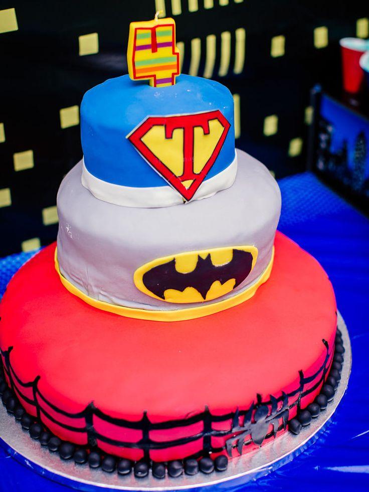 Best 25 Superhero birthday cake ideas on Pinterest Superhero