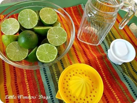 homemade limeade recipe, cinco de mayo for kids
