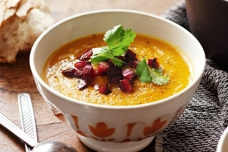The flavours of the Middle-East triumph in this hearty winter soup.