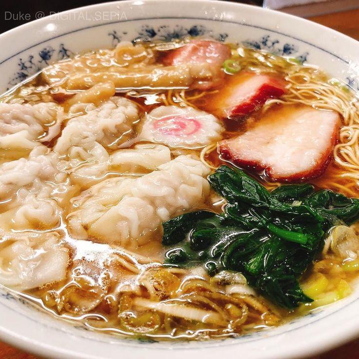 One of the best Shoyu-broth Ramens on the planet! 久しぶりに最強醤油ラーメンを  #Ramen #Yokohama #Japan #ラーメン #醤油ラーメン #横浜