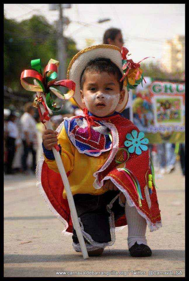 Carnaval de Barranquilla  Colombia   Garabatico, para que siga la tradición del Carnaval