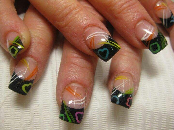modelo de uñas naturales pintadas: Nails Art, Nailart, French Manicures, Nails Design, Makeup, Naildesign, Summer Nails, Nails Ideas, Fingers Nails