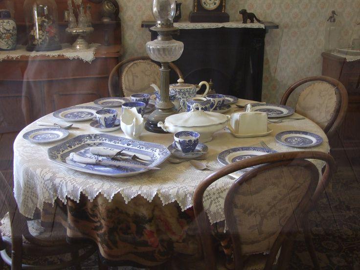 Table setting - Pioneer Settlement Swan Hill