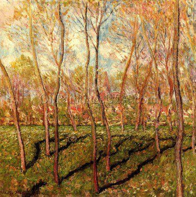 Trees in Winter, View of Bennecourt
