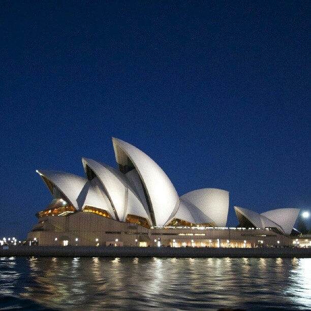 Opera House from a Ferry.   Has to be my favorite building to take photographs of.