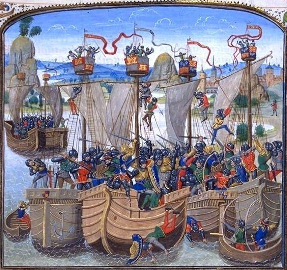 21- bataille de la rochelle guerre de cent ans 1419 - § ARCHER GARDE ECOSSAISE: 7000-8000 men arrived at La Rochelle in October 1419 and made their way to Tours to greet the Dauphin. The first thing the future Charles VII did was to shower munificence upon the Scottish nobles. Buchan received Châtillon-sur-Indre, the Earl of Wigtoun received Dun-le-Roi, Sir John Stewart of Darnley received Concressault and Aubigny, ans Thomas Seton the castle of Langeais.
