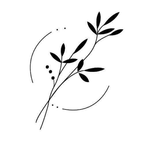 Flower Tattoos Semi-Permanent Tattoos von inkbox #Tattoos #flowertattoos