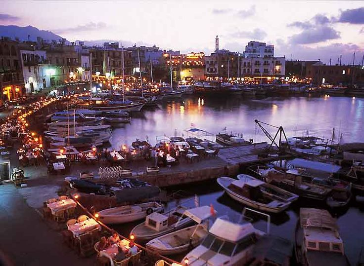 Girne Harbour North Cyprus