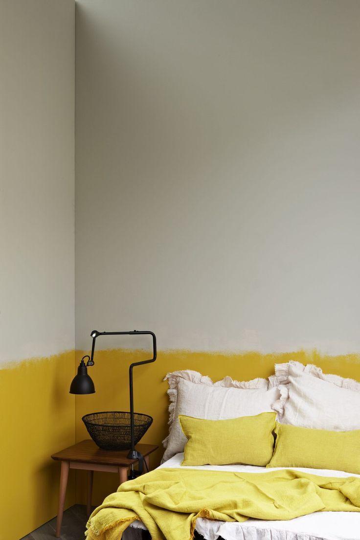 Bedroom | ベッドルーム | Camera da Letto | Dormitorio | Chambre à Coucher | Boudoir | Bed | Decor | Manchester | Yellow and Gray