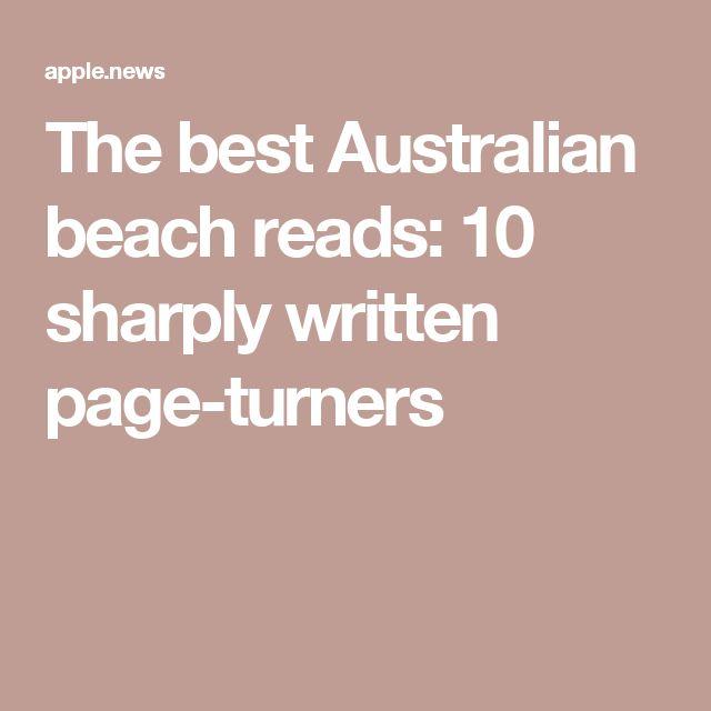 The best Australian beach reads: 10 sharply written page-turners