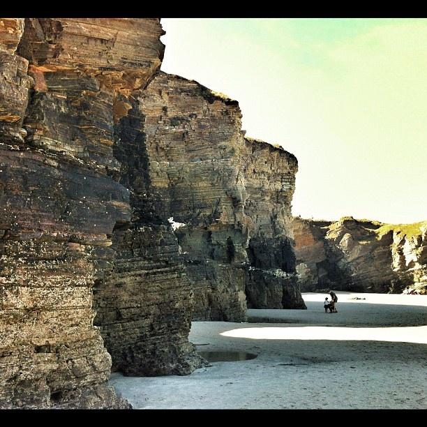 Playa de las Catedrales. Turismo rural en galicia