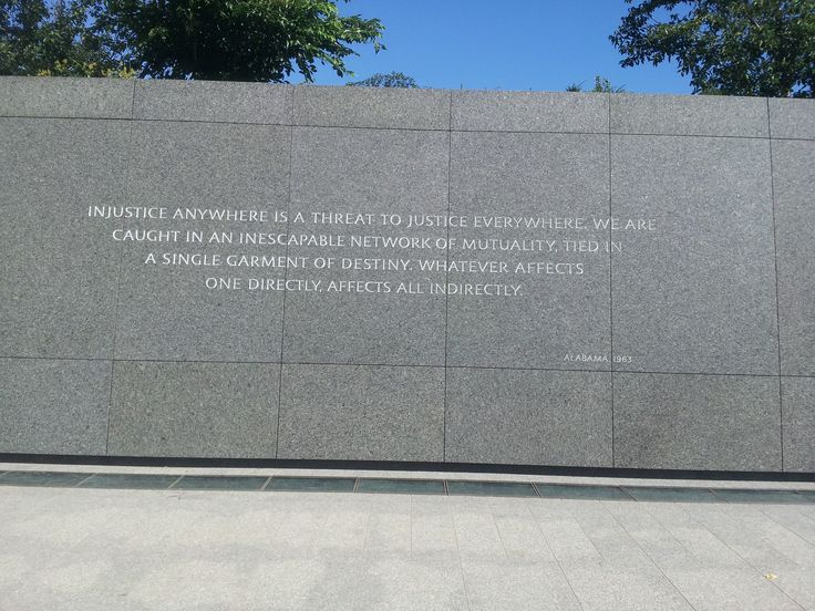 best rev dr martin luther king jr memorial washington dc   injustice anywhere is a threat to justice everywhere we are caught in an inescapable