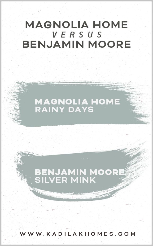 Magnolia Home Paint Color matched to Benjamin Moore | Magnolia homes paint, Fixer upper paint colors, Fixer upper paint