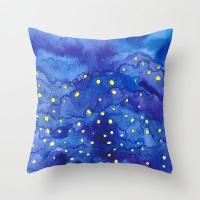 'Glowing' Throw Pillow by Chuen - $20.00 Promotion - Free Shipping until 9 Feb 14
