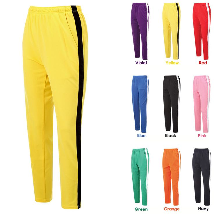 Mens Womens Running Jogging Track Warm Up Pants Gym Training Wear Lined Pants #hellobincom #WarmUpGymTrainingPants