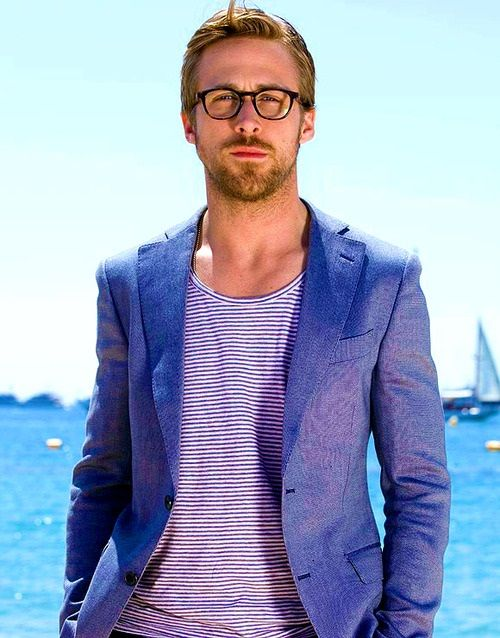 Ryan Gosling wearing spectacles...