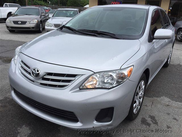 2013 Used Toyota Corolla 4dr Sedan Automatic LE at Best Choice Motors Serving Tulsa, OK, IID 13875753