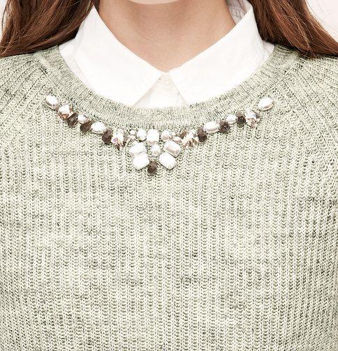 Necklace Sweater | Loft