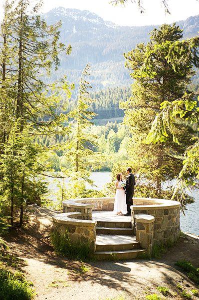 Whistler Elopement Wedding - The Stone Circle - Alta Lake - British Columbia - David Buzzard Photo
