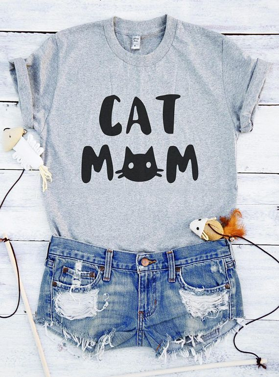 3bd5ce32 Katie Cat mom shirt cat gifts funny for women girls Teenagers for mom  quotes slogan t-shirt cute pets guys best friends sisters girlfriend graphic  tees ...
