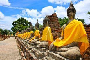 Aasian kiertomatka - Thaimaa, Buddhat