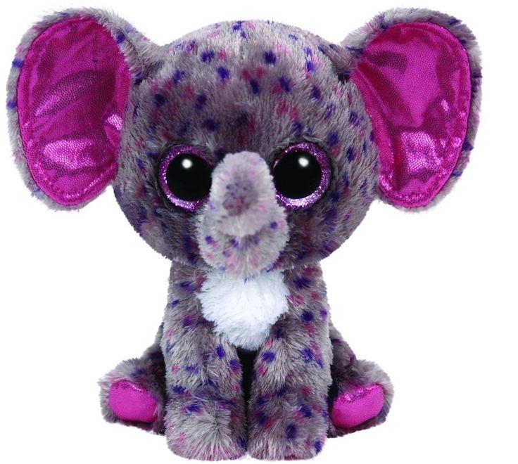 Ty - Ty36156 - Peluche - Beanie Boo's - Small - Specks L'éléphant: Amazon.fr: Jeux et Jouets